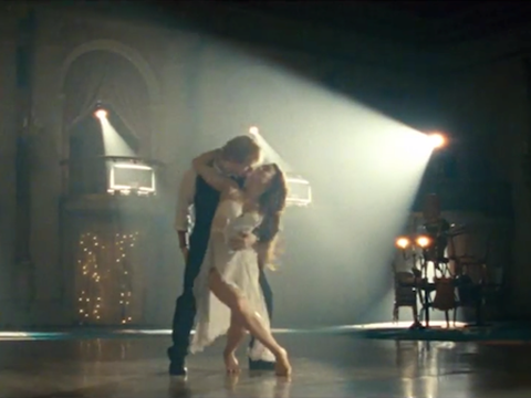 "Ed Sheeran's ""Thinking Out Loud"" music video"