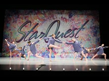 Best Contemporary // BACKING DOWN - A Touch Of Class Performing Arts [Dallas TX I]